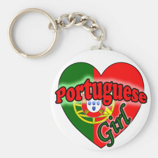 Portuguese Girl Keychain