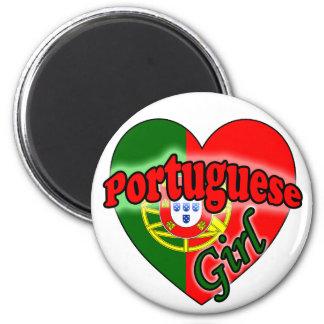 Portuguese Girl Magnet