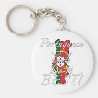 Portuguese Girls Do It Best! Basic Round Button Keychain