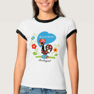 Portuguese Good Luck Rooster T-Shirt