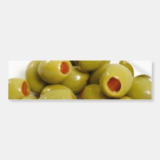 Portuguese green olives bumper sticker