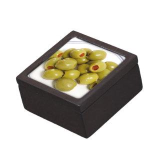 Portuguese green olives gift box