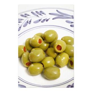 Portuguese green olives photo print