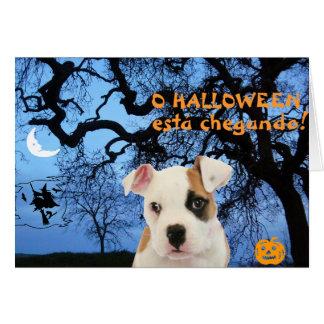 Portuguese: Halloween Card