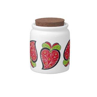 Portuguese Heart Candy Jar candyjar
