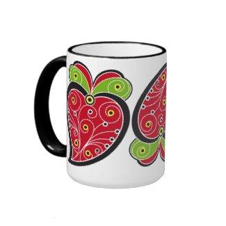 Portuguese Heart mug mug