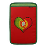 Portuguese heart sleeves for MacBook air