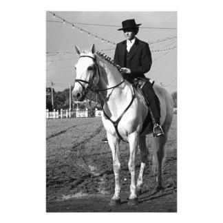 Portuguese horse rider stationery