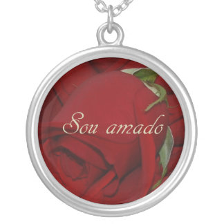 Portuguese I Am Loved Necklace