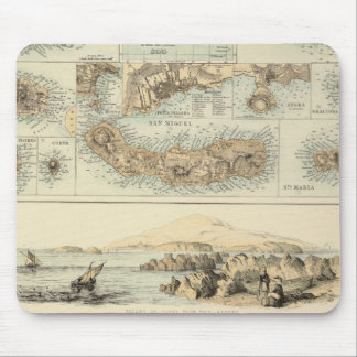 Portuguese Islands in the Atlantic Ocean Mouse Pad