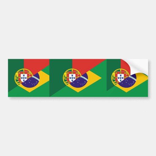 Portuguese Language, hybrids Bumper Stickers