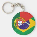 Portuguese Language, hybrids Key Chain