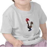 Portuguese Lucky Rooster T Shirts
