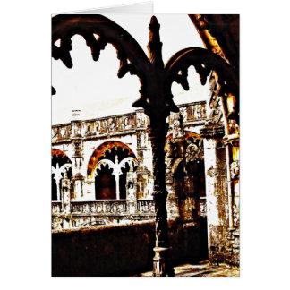 Portuguese Monastery - Mosteiro dos Jeronimos Card