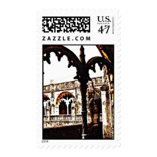 Portuguese Monastery - Mosteiro dos Jeronimos Postage