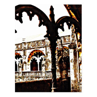 Portuguese Monastery - Mosteiro dos Jeronimos Postcard