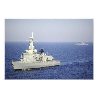 Portuguese navy frigate NRP Bartolomeu Dias Photo Print