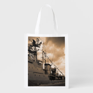 Portuguese Navy frigates Grocery Bag