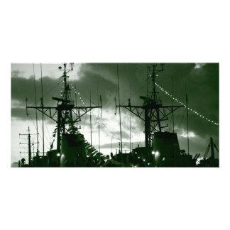Portuguese Navy frigates Personalized Photo Card