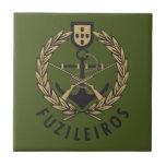 "Portuguese Navy Marines ""Fuzileiros"" Ceramic Tiles"