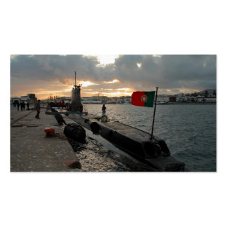 Portuguese Navy submarine Business Card