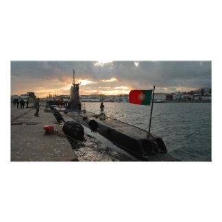 Portuguese Navy submarine Photo Card Template