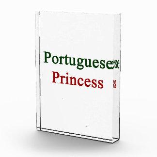 Portuguese Princess Acrylic Award