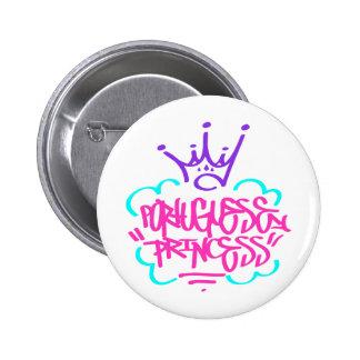 Portuguese Princess Button