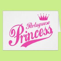 Portuguese Princess Card