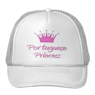 Portuguese Princess Trucker Hats