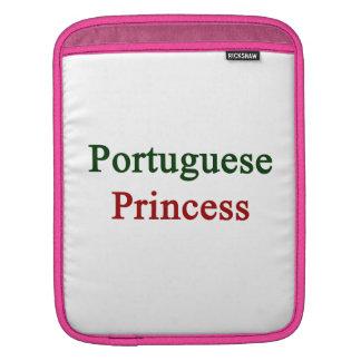 Portuguese Princess iPad Sleeves