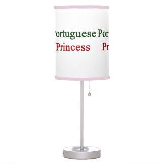 Portuguese Princess Table Lamps