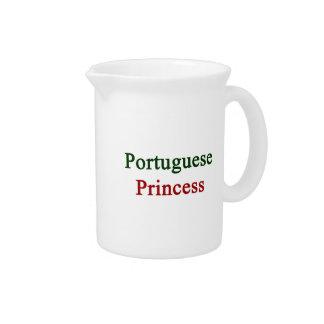 Portuguese Princess Beverage Pitcher