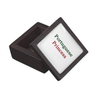 Portuguese Princess Premium Keepsake Box