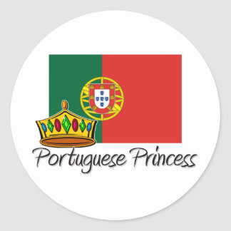 Portuguese Princess Stickers