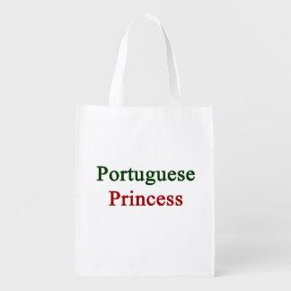 Portuguese Princess Grocery Bags