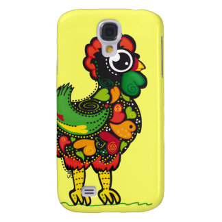 Portuguese Rooster 3 Samsung Galaxy S4 Cover
