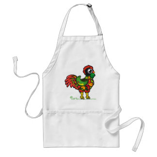 Portuguese Rooster apron