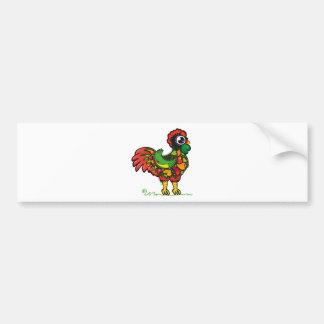 Portuguese Rooster bumper sticker
