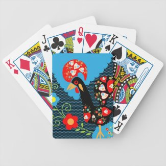 Portuguese Rooster Card Decks