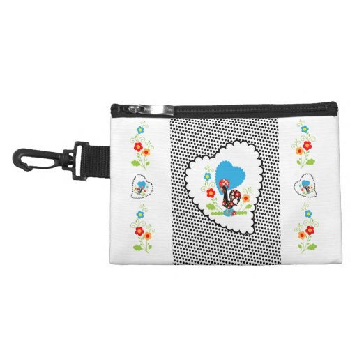 Portuguese Rooster Clip On Accessories Bag