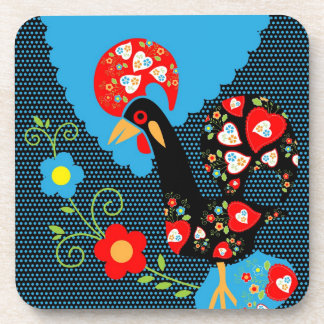 Portuguese Rooster Coasters