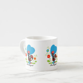 Portuguese Rooster Expresso Mug