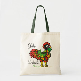 Portuguese Rooster - Galo de Barcelos Tote Bag