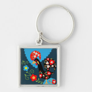 Portuguese Rooster Key Chain