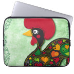 Portuguese Rooster laptop sleeve