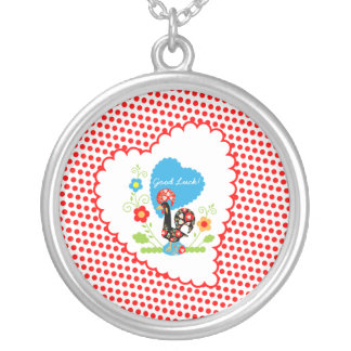 Portuguese Rooster of Luck Girl necklace