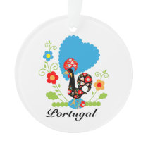 Portuguese Rooster of Luck Ornament