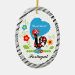 Portuguese Rooster of Luck Ornaments
