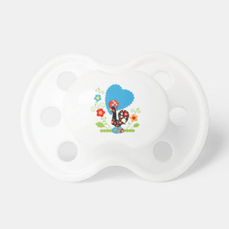 Portuguese Rooster of Luck Pacifier